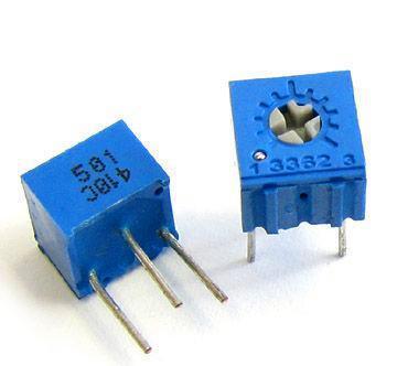 Precautions for adjustable resistors