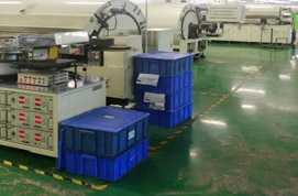 Production line for Aluminum Electrolytic Capacitors