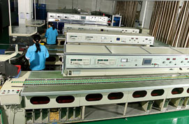 Assembly machine for X2 capacitors