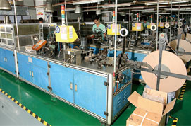 Automotive sorting machine for X2 capacitors