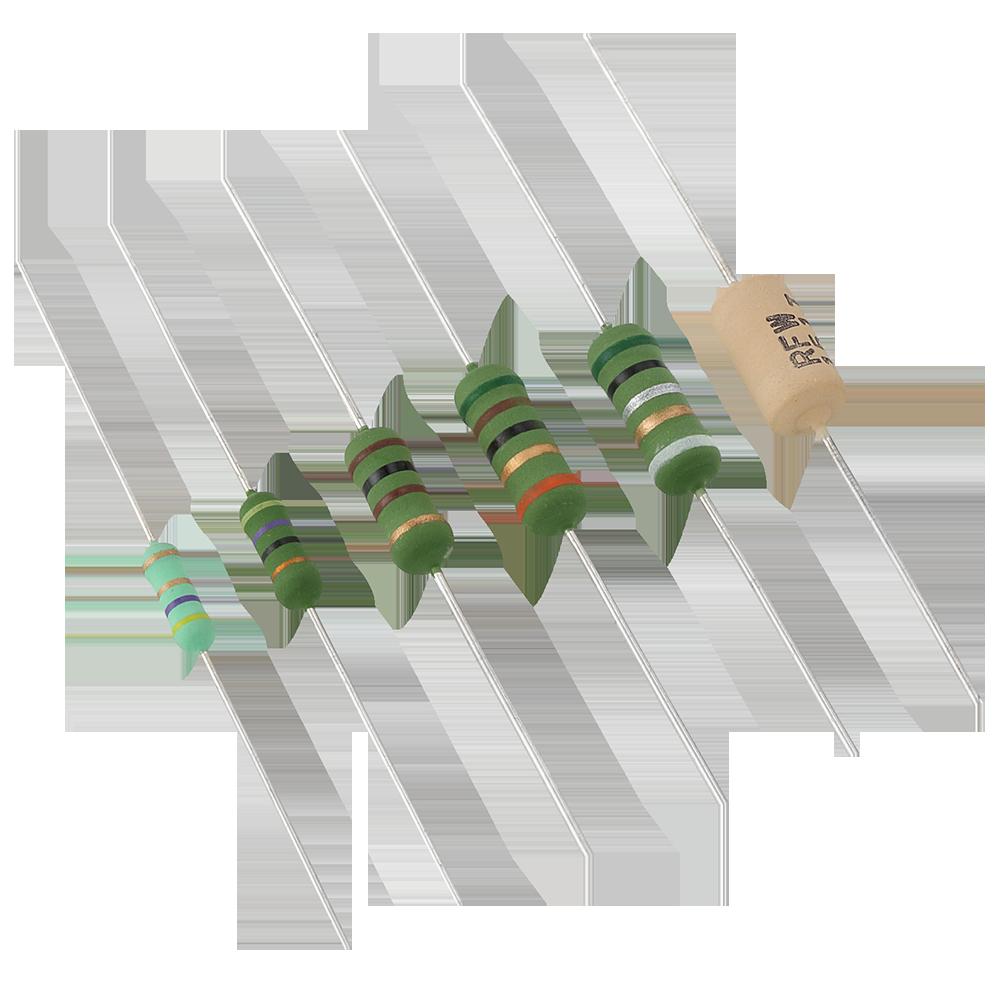 Axial resistor