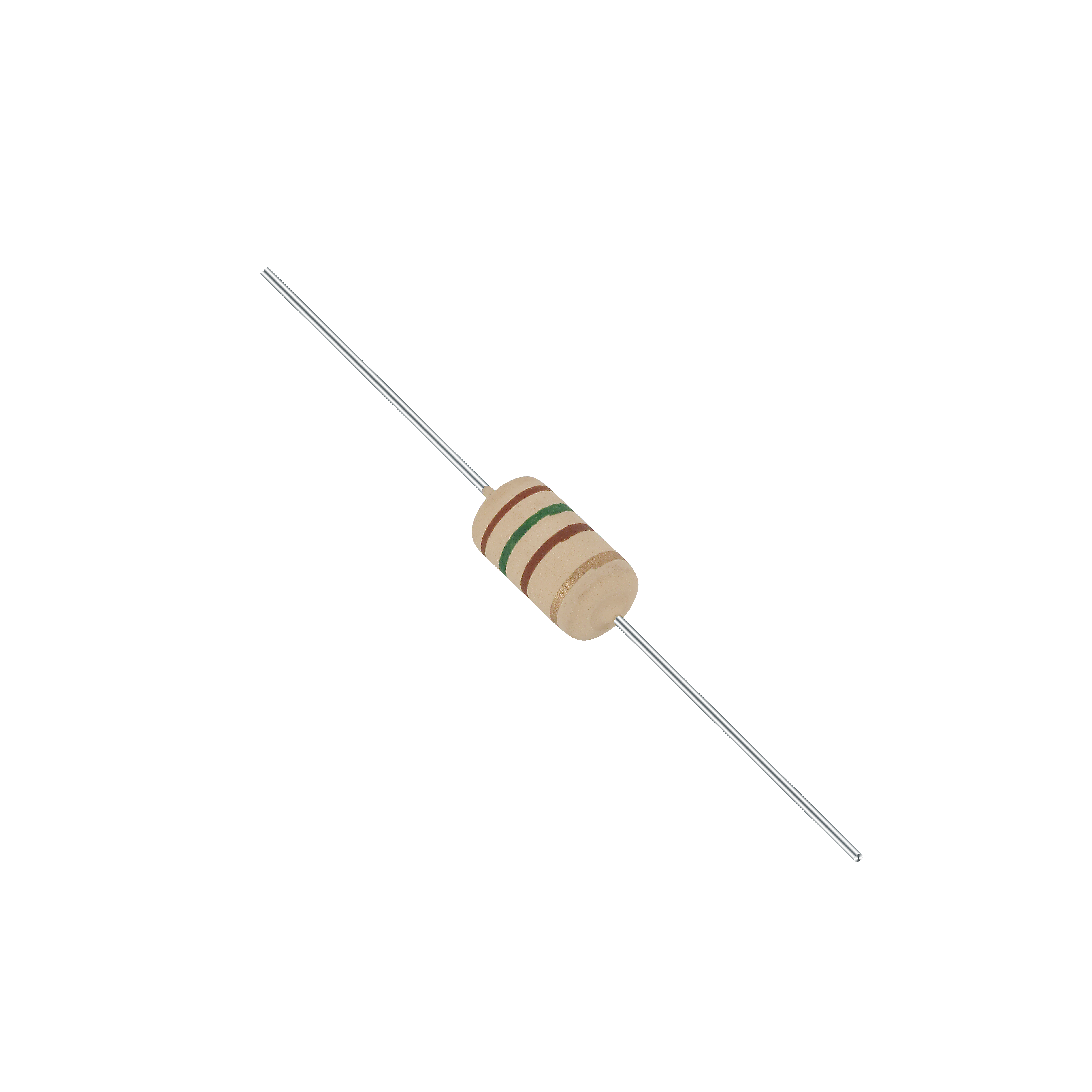 ROP cement resistors, cylindrical type